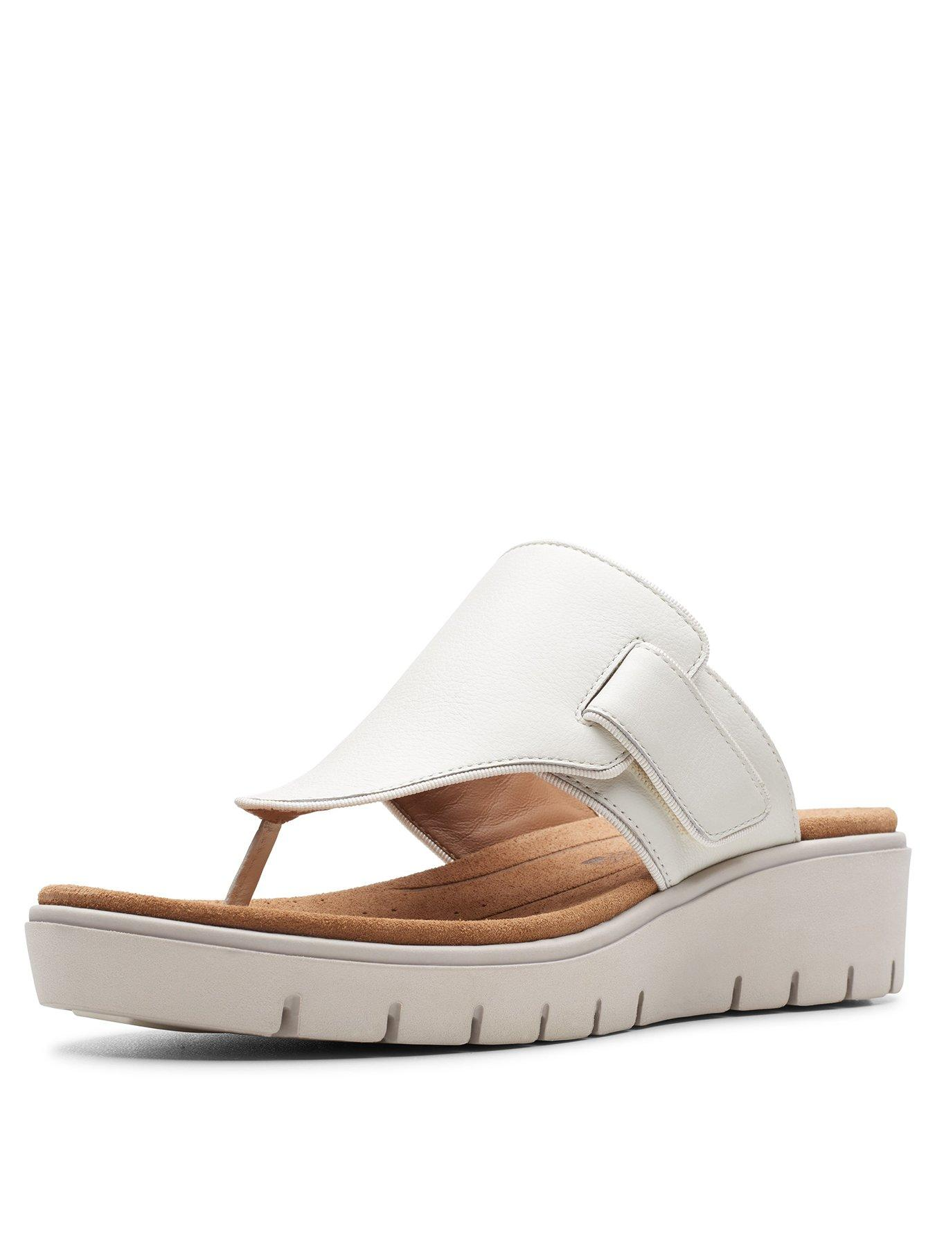 Clarks Clarks Unstructured Un Karely Sea Wide Fit Wedge