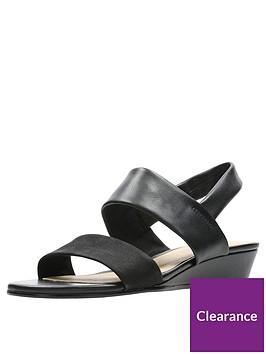 clarks-sense-lily-wedge-sandals-black