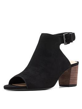 076681e894bb Clarks Deloria Gia Shoe Boots - Black