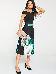 v-by-very-scuba-printed-prom-dress-green-floral