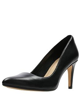 Clarks Clarks Laina Rae Heeled Shoes - Black Picture