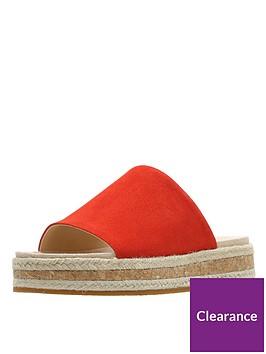 clarks-botanic-iris-flat-sandals-orange