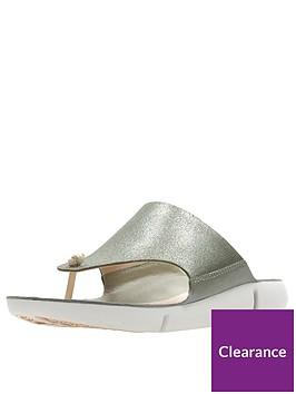 clarks-tri-carmen-flip-flops-olive