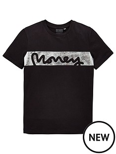 money-boys-short-sleeve-foil-singnature-t-shirt