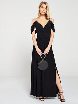 v-by-very-occasion-cold-shoulder-jersey-maxi-dress-black