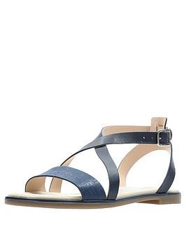 clarks-bay-rosie-flat-sandals-navy