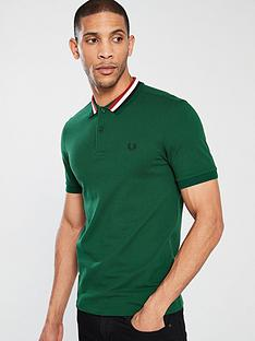 fred-perry-bomber-stripe-pique-polo-shirt-ivy