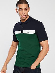 fred-perry-contrast-panel-pique-polo-shirt-ivy
