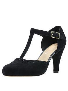 aadcc8239d4 Clarks Dalia Leah Heeled Shoes - Black