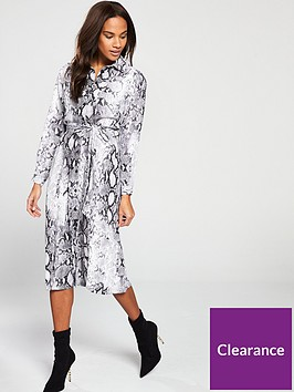 v-by-very-midaxi-shirt-dress-snake-print
