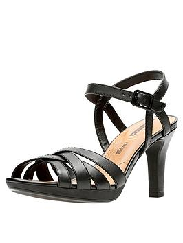clarks-adriel-wavy-heeled-sandals-black