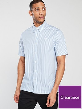 fred-perry-vertical-striped-shirt