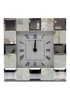 arthouse-pearl-shell-desk-clock