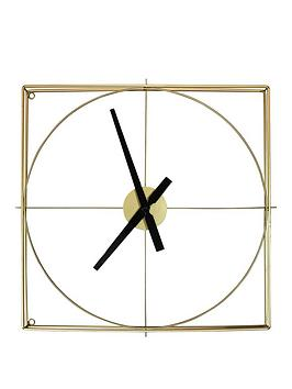 arthouse-gold-framed-wall-clock