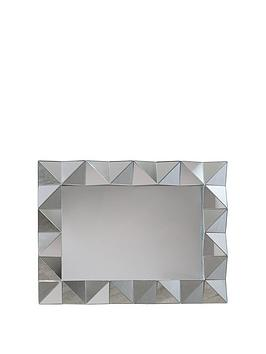 ARTHOUSE Arthouse Geometric Wall Mirror Picture