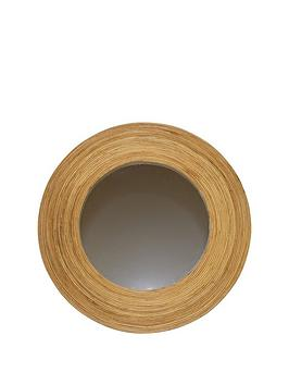 ARTHOUSE Arthouse Round Wood Mirror Picture