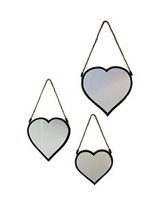 arthouse-set-of-3-heart-mirrors