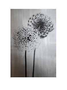arthouse-nbspfoil-dandelions-canvas-wall-art