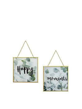arthouse-happy-moments-hanging-prints--nbsp-set-of-2nbsp