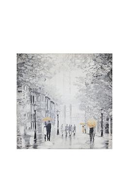 ARTHOUSE  Arthouse  Painted Street Canvas Wall Art