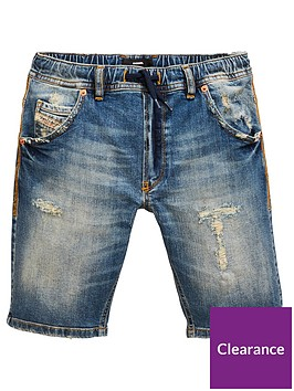 diesel-boys-distressed-denim-jog-short