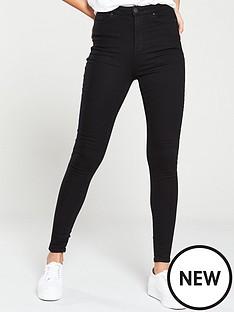 v-by-very-charley-super-skinny-jeans-black