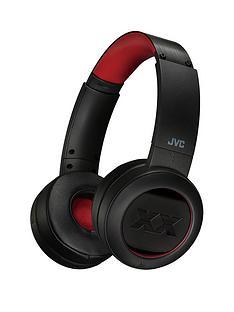 jvc-xx-xtreme-xplosives-bass-wireless-bluetoothnbspon-ear-headphones-with-40nbsphours-battery-life-amp-quick-charging-black