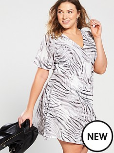 girls-on-film-curve-shirt-wrap-dress--nbspzebra-print