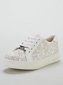 michael-kors-girls-glitter-lace-up-trainer