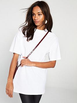 v-by-very-high-neck-longline-tee-white