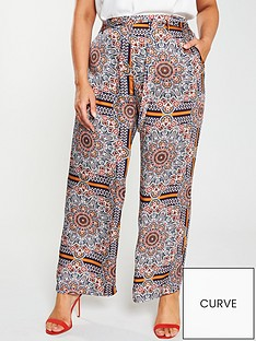 girls-on-film-curve-tile-print-wide-leg-trousers-multi