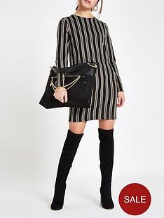 ri-petite-ri-petite-striped-bodycon-day-dress-brown