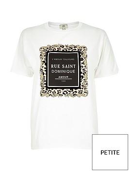 ri-petite-slogan-leopard-t-shirt-white