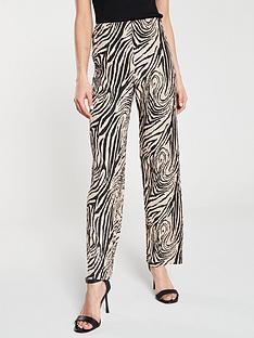 river-island-river-island-animal-print-plisse-wide-leg-trousers