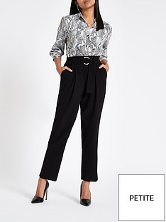 ri-petite-ri-petite-ring-detai-tapered-trouser-black