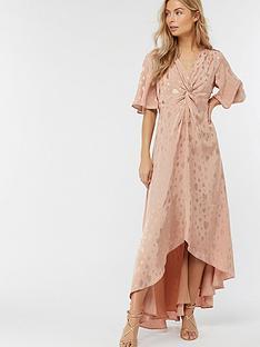 monsoon-jacquette-satin-jacquard-dress-nudenbsp