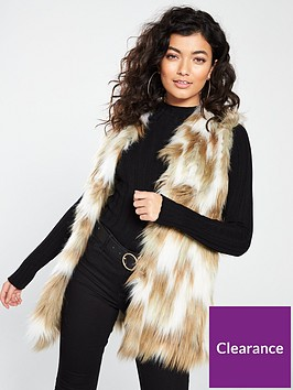 river-island-faux-fur-gilet-natural