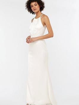 monsoon-anne-lace-back-satin-wedding-dress-ivory