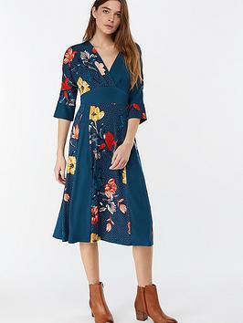 monsoon-shona-floral-print-midi-dress-teal-blue