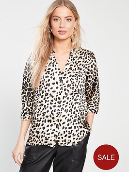 river-island-river-island-printed-button-front-blouse-leopard