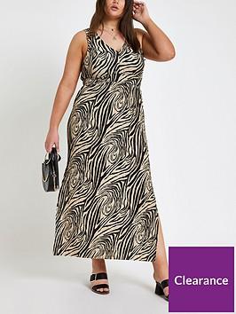 ri-plus-zebra-print-maxi-dress