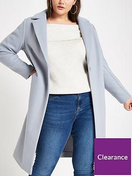 ri-plus-single-breasted-coat-pale-blue