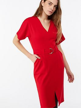 monsoon-cassie-crepe-dress-red