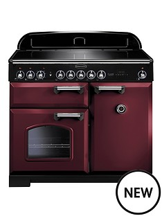 rangemaster-cdl100eicy-classic-deluxe-100cm-electric-range-cooker-with-induction-hob-cranberry
