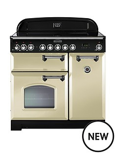 rangemaster-cdl90eicr-classic-deluxe-90cm-electric-range-cooker-with-induction-hob-cream