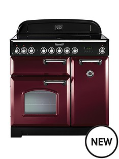 rangemaster-cdl90eicy-classic-deluxe-90cmnbspwide-electric-range-cooker-with-induction-hob-cranberry