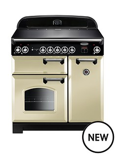 rangemaster-cla90eicr-classic-90cmnbspwide-electric-range-cooker-with-induction-hob-cream