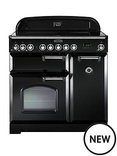 rangemaster-cdl90ecbl-classic-deluxe-90cmnbspwide-electric-range-cooker-black