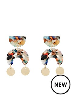 monsoon-monsoon-mona-mini-tort-gold-circle-earrings