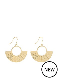 monsoon-genie-gold-fan-earrings